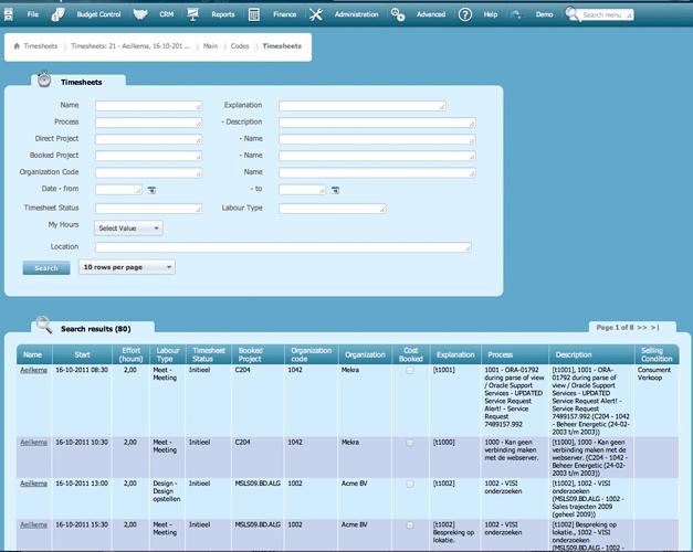 Oude-online-urenregistratiescherm-Invantive-Estate