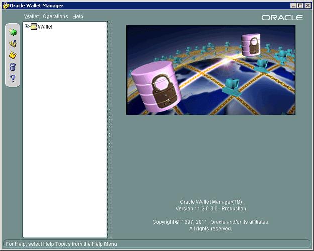 oracle-wallet-open-screen