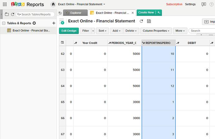 zoho-reports-query-exact-online-rename-columns