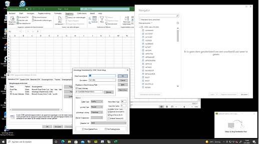 Excel ODBC