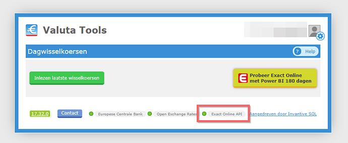 Exact Status API
