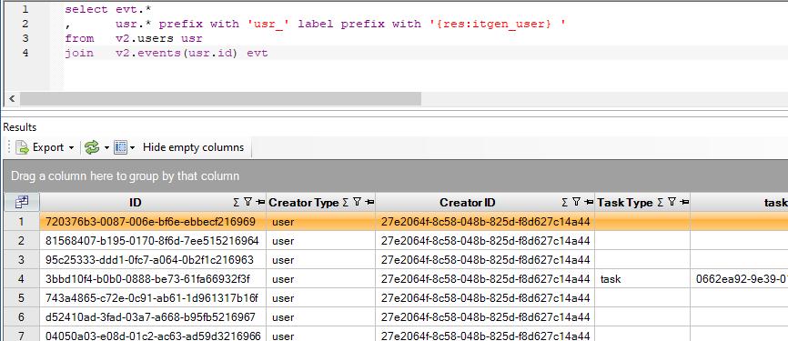 Teamleader API User Events