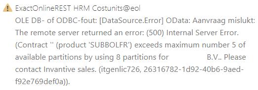 itgenlic726 error