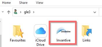 Profielmap met Invantive map