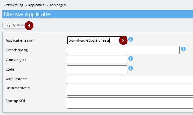 Applicatie Download Google Sheets