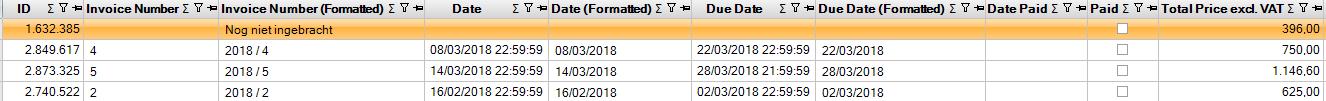 Teamleader facturen per project