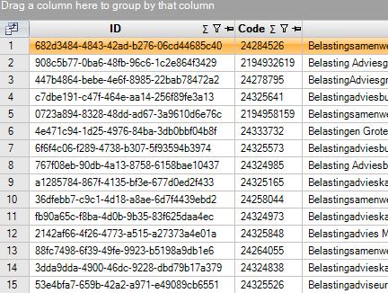 Relaties vernummeren Exact Online