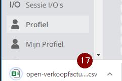 CSV Open Verkoopfacturen