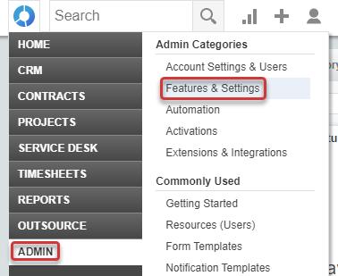 Autotask Features & Settings