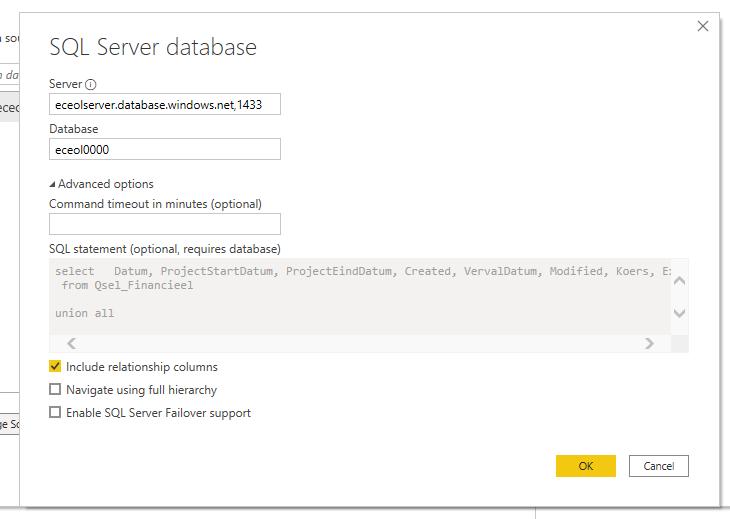 Databron eceolserver.database.windows.net